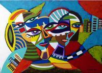 Artworks - Tres Brujas - Acrylic On Canvas