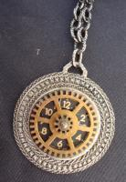 What Time Is It - Metal Jewelry - By Sam Vanbibber, Re-Purposed Or Steampunk Jewelry Artist