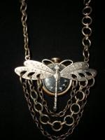 Necklace - How Dragon Flies Fly - Metal