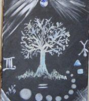 Chambers Of Thought - The Tree Of Life III - Basic Paint