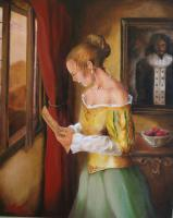 Brett Roeller - Vermeer Is My Hero - Oil Paint