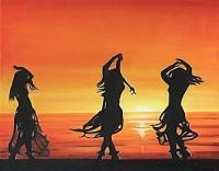 Diverse - Sunset Dance - Oil