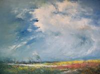 30 Moods Of Nature - Roaring Clouds - Oil On Canvas