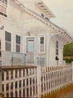 This Old House - Oil On Linen Paintings - By Leslie Dannenberg, Realism Painting Artist