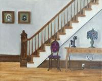 Interiors And Exteriors - 1927 Interior - Oil On Canvas
