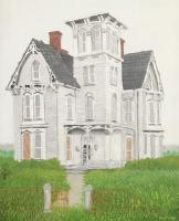 Buildings - This Old Abandoned House - Oil On Canvas