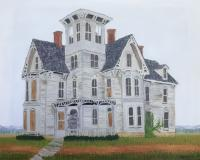 Buildings - This Old Abandoned House 2 - Oil On Canvas