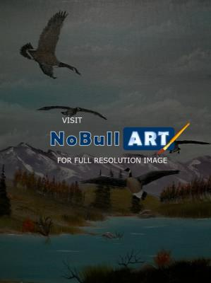 Wildlife - Canada Air Show - Oils
