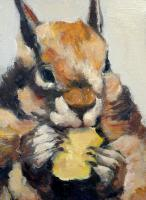 Love These Trans Fats - Oil Paintings - By Juliet Mevi, Impressionism Painting Artist