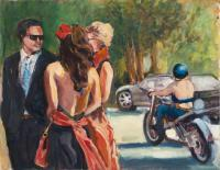 Figurative - The Wedding At Nicasio  2 - Oil