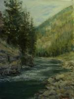 Current Work - Gallatin River 1 - Oil