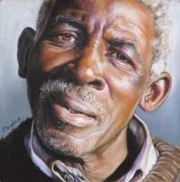 Portraiture - Mdhara - Water Color Pastel Pencils