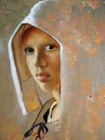 Portrait - A Touch Of Vermeer - Oil