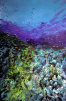 Water World - Acrylics Paintings - By Deborah Boak, Landscapes And Seascapes Painting Artist