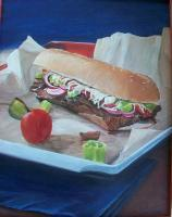 Still Life Painting - Oh Yummy - Acrylic On Board