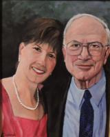 People - Memories Of Dad - Acrylic On Canvas