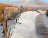 Landscapes  Seascapes - Dauphin Island Sunset - Acrylic On Canvas