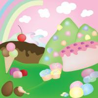 Illustration - Candy Land - Illustration