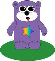 Illustration - Rainbow Bear - Illustration