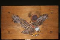 Animals - Eagle Bench - Acrylics