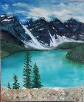 Realism - Mountain Lake - Original