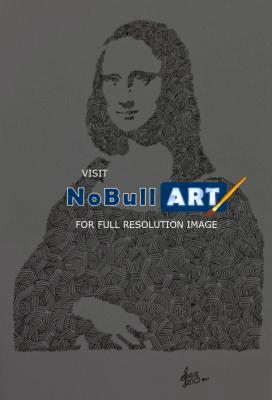 Inkart - Mona Lisa - Ink