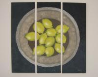 Silvianas Artwork - Lemons - Acrylic On Canvas