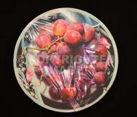 Globe Grapes - Acrylic On Canvas Paintings - By Jose Luis Quinones, Photorealism Pop Painting Artist