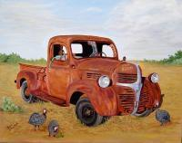 Vehicles - Just A Tad Redneck - Oil On Canvas