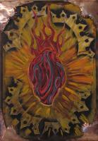 Abstract - El Corazon - Acrylic