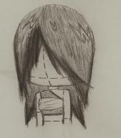 Anime - A Doll Thingy - Pencil