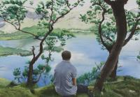 Lake District - Lonely View - Oil