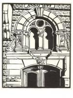 Prints - Ornamental Doorway Goteborg - Linocut