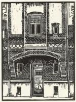 Prints - House In Haga Goteborg - Linocut