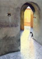 Doors - Il Gabinetto - Watercolor
