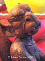 Gargoyles - Oh Really - Polymer Clay Mostly