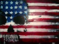 My American Dream - Mixed Media Paintings - By Zac Mauer, Americana Painting Artist