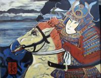 Asian - The Charge - Acrylic