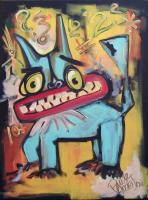 Neo  Expressionism - Who  Knew - Acrylic