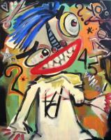Neo  Expressionism - Who Is It - Acrylic
