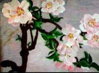Floral - Almond Branch - Acrylic