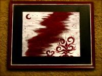 Emotional Seasons - Fading Crimson Dream - Acrylic