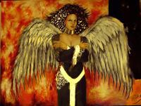 Mikes Art - Angel - Acrylic On Canvas