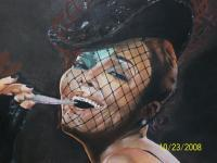 Janet Jackson - Pastel And Chalks Drawings - By Janice Park, Portraits Drawing Artist