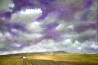 2010 Artworks - Tuscanys Lavender Sky - Acrylic On Gallery Canvas