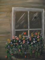Still Life - The Window Box - Acrylic