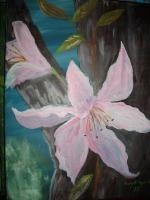 Flowers - The Lillies - Acrylic