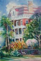 Architectural - South Battery - Watercolor