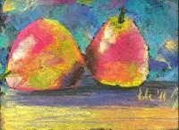 Still Life - The Happy Pair - Pastels
