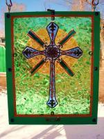 Just Made - The Cross - Glass Mosaics